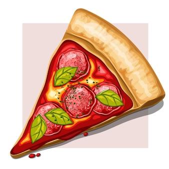 Fatia de pizza