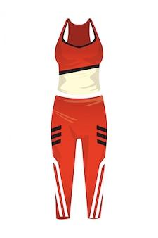 Fato de fitness feminino