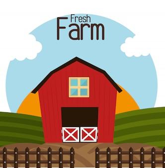 Fazenda design fresco