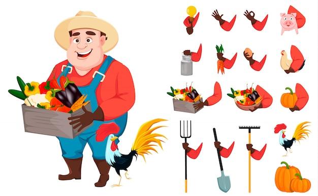 Fazendeiro gordo, engenheiro agrônomo