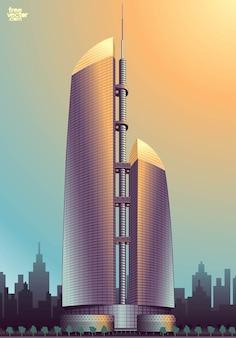 Federação arranha-céus negócio torre centro