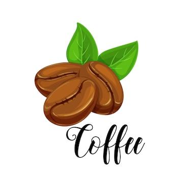 Feijão de café de ícone