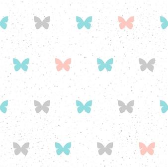 Feito à mão sem costura de fundo. padrão de cor azul, cinza e rosa abstrato para cartão, convite, papel de parede, álbum, álbum de recortes, papel de embrulho de férias, tecido, vestuário, camiseta, etc.