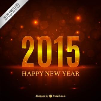 Feliz 2015 vetor livre