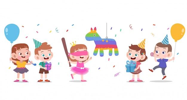 Feliz aniversário de crianças