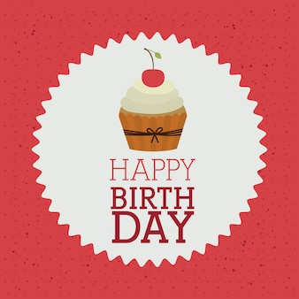 Feliz aniversário design