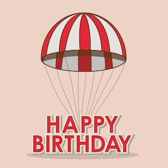 Feliz aniversário desing