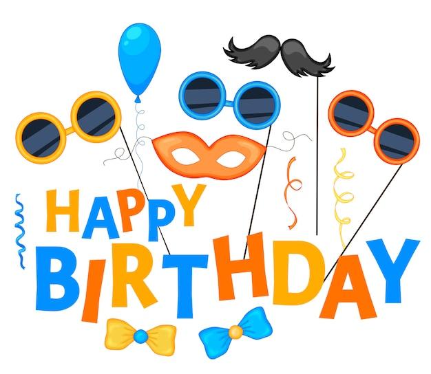 Feliz aniversário, fundo