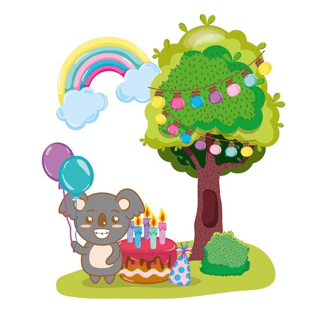 Feliz aniversário koalass