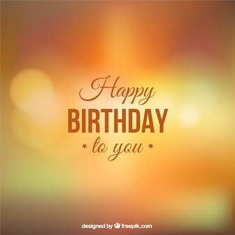 Feliz aniversário para você fundo
