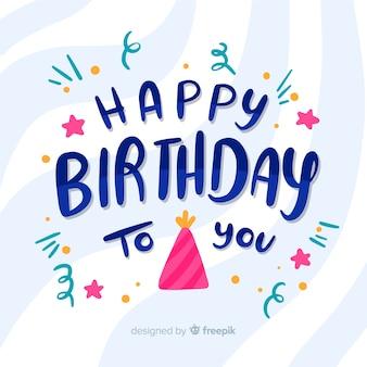 Feliz aniversário para você letras