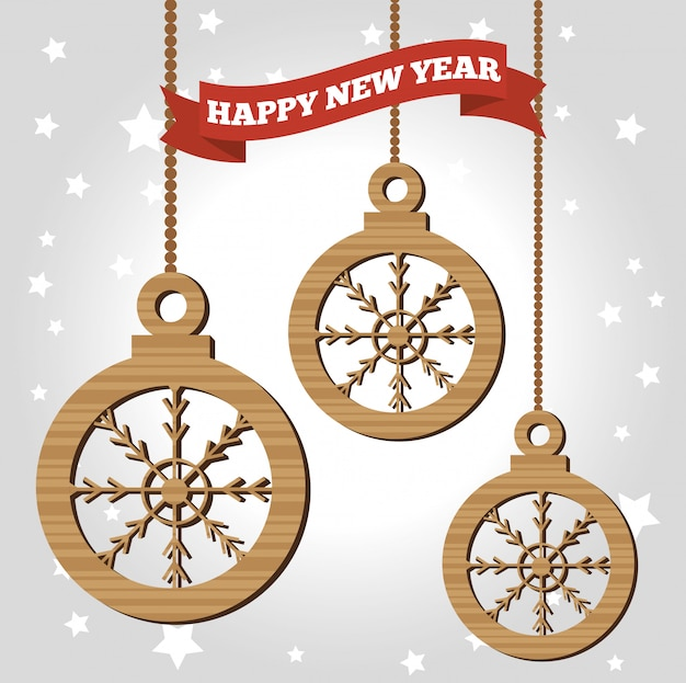 Feliz ano novo 2017 cartaz