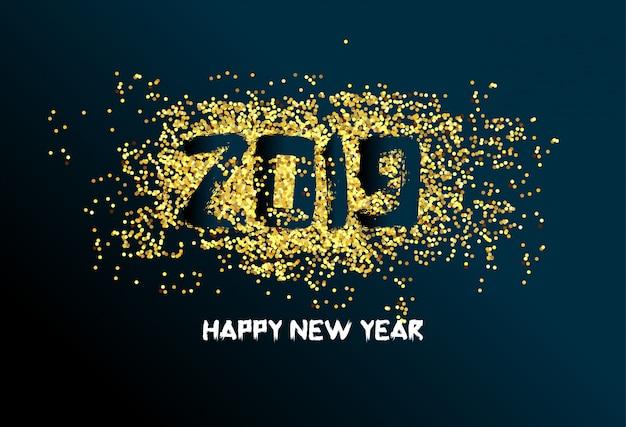 Feliz ano novo 2019. chienese ano novo, ano do porco
