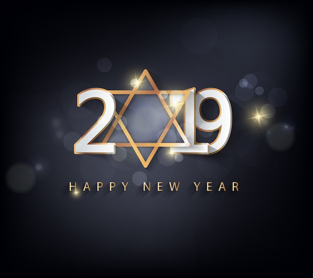 Feliz ano novo 2019 e feliz natal