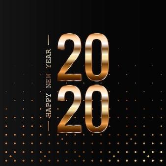 Feliz ano novo 2020 feriado