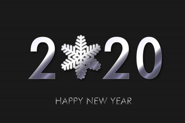 Feliz ano novo 2020 fundo.