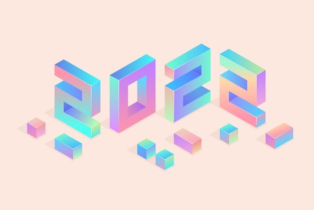 Feliz ano novo 2021 design