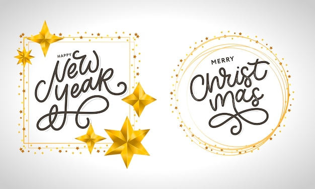 Feliz ano novo 2021 lindo pôster de cartão comemorativo