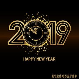 Feliz ano novo de 2019.