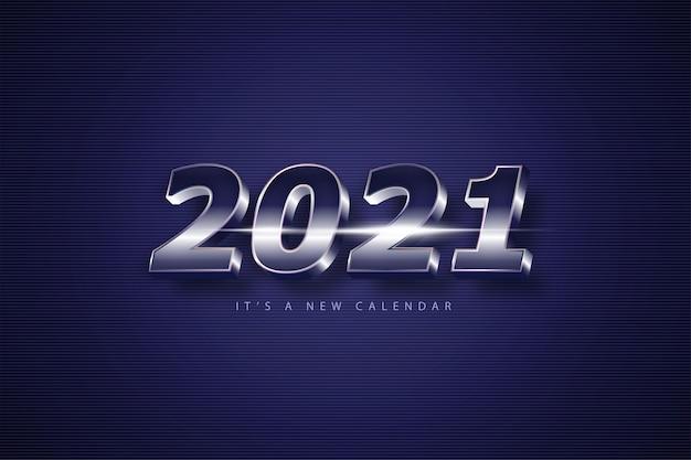 Feliz ano novo de 2021, fundo de férias