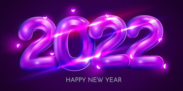 Feliz ano novo desenho de fundo cartão banner pôster
