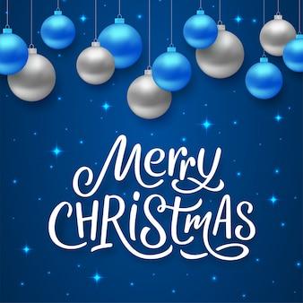 Feliz ano novo e feliz natal vector cartão