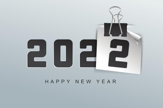 Feliz ano novo fundo de 2022