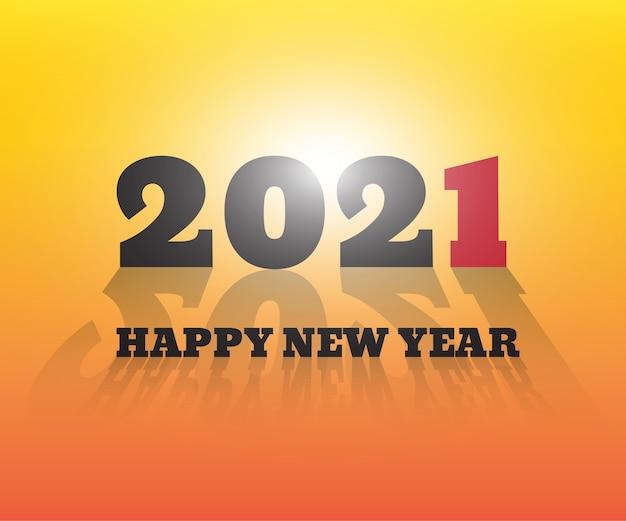 Feliz ano novo . fundo de saudações.