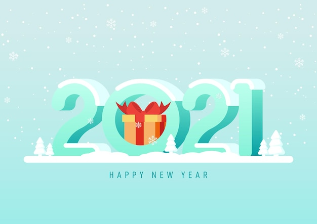 Feliz ano novo fundo decorativo