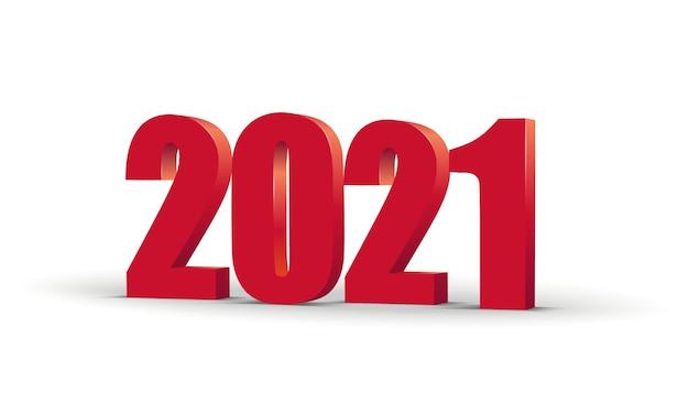 Feliz ano novo, número vermelho