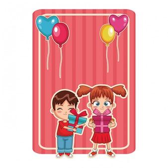 Feliz bithday crianças