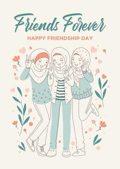 Feliz dia da amizade