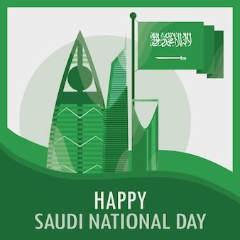 Feliz dia da arábia saudita