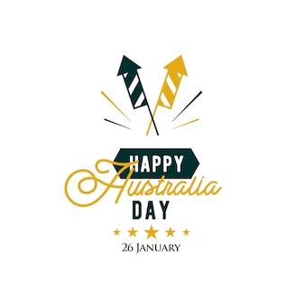 Feliz dia da austrália. 26 de janeiro.