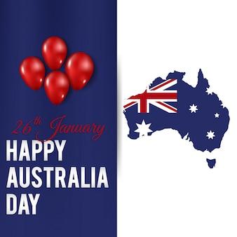 Feliz dia da austrália