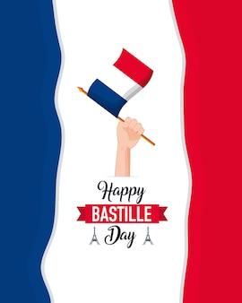 Feliz dia da bastilha