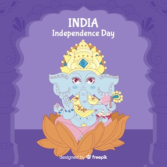 Feliz dia da independência da índia