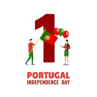 Feliz dia da independência de portugal.