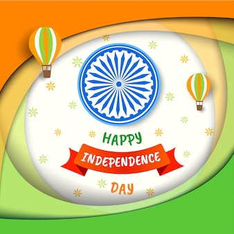 Feliz dia da independência índia