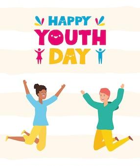 Feliz dia da juventude