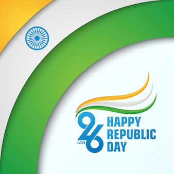Feliz dia da república da índia