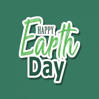 Feliz dia da terra