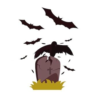 Feliz dia das bruxas comemoração ilustration