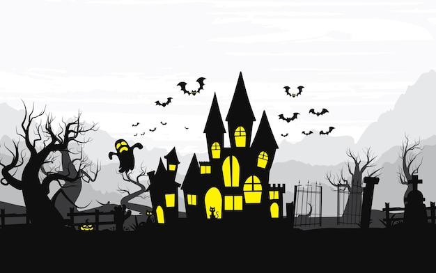 Feliz dia das bruxas, fundo de dia das bruxas.