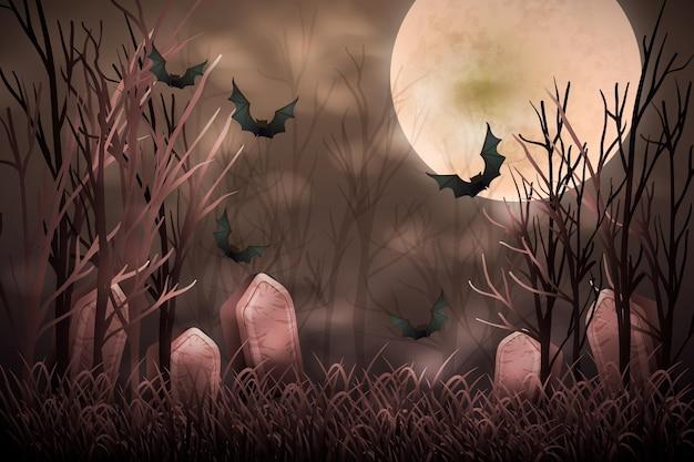 Feliz dia das bruxas fundo