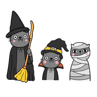 Feliz dia das bruxas vector.