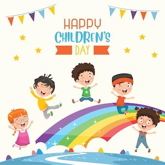 Feliz dia das crianças
