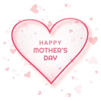 Feliz dia das mães cartão fundo bonito