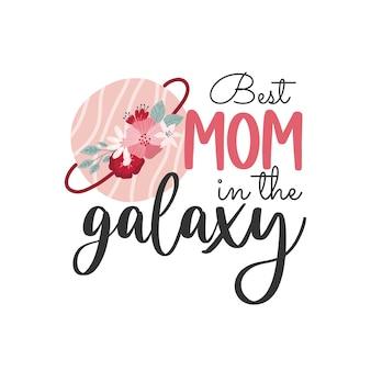 Feliz dia das mães, cartões de felicitações com flores, a melhor mãe de todos os tempos