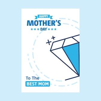 Feliz dia das mães celebração fundo